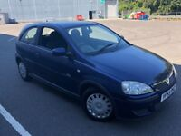 2006 VAUXHALL CORSA 1.2CC ONLY 75,000 GENUINE MILES WITH LONG MOT AND SERVICE HISTORY