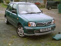 NISSAN MICRA AUTOMATIC 998CC.