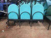 Folding Stadium / Conference Chairs (bays of 3)