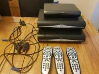 Sky HD bundle set with router