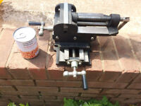 Milling Machine Compound Vice 125mm Big and heavy .