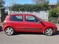 Renault Clio with new MOT