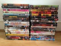 Great selection of 37 DVDs