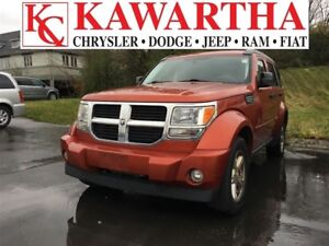 2009 Dodge Nitro SXT MODEL, 4X4, LOCALLY OWNED AND CARED FOR!