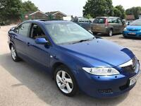 53 Mazda 6 tdi turbo diesel sport Bose alloys 146bhp spares or repair oil leak from sump 10m mot