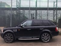 Land Rover Range Rover Sport 2.7TD HSE CREAM LEATHERS/REAR ENTERTAINMENT+ (cambelt/alternator/servo)