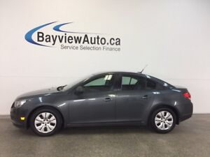 2013 Chevrolet CRUZE LS- 6 SPEED! A/C! ON STAR! BUDGET BUDDY!
