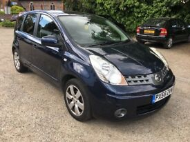 FULL AUTOMATIC .. NISSAN NOTE 2008 .. TEKNA