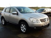 2008 nissan qashqai 1.5 dci acenta only 61000 miles full history motd jan 2018