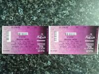 2x Scooter tickets Glasgow June 10th