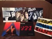 The Police and Sting Vinyl Records x 6