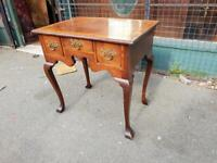 Small Antique Lowboy Desk