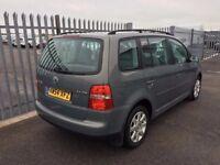 MID MONTH SALE 2005 Volkswagen Touran 1,9 litre diesel 5dr 7 seater automatic