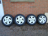 Peugeot 306 D-turbo Alloy Wheels 14 inch