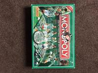 Rare Celtic fc limited edition monopoly