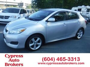 2009 Toyota Matrix XR (Local Car, No Accidents & Dealer Serviced