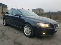 2007 57 REG VOLVO S80 2.4 D5 SE AUTOMATIC, HPI CLEAR, FACELIFT MODEL, FULL LEATHER, GOOD CONDITION