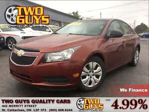 2012 Chevrolet Cruze LS NICE LOCAL TRADE IN!