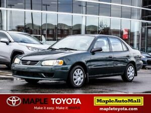 2002 Toyota Corolla CE AS IS