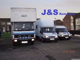 2 Men and a van for hire ( J&S Furniture Removals & Deliveries )