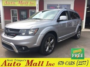 2017 Dodge Journey Crossroad/Leather/Nav/DVD