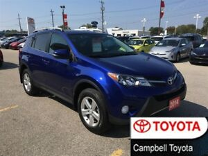 2014 Toyota RAV4 XLE--HEATED CLOTH--LOW KM'S--MOON ROOF