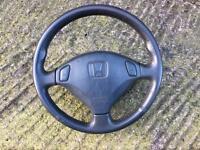 Honda Integra type r Dc2 ukdm 1998 steering wheel rare jdm eg civic Eg6