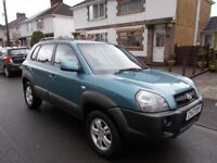 2007 Hyundai Tuscon 2.0 td Automatic mpv estate FSH lovely condition highspec