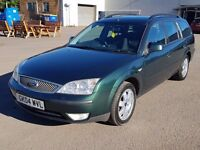 2004 Beautiful Mondeo, Long Mot, HpiClear, Service History,Clean Car, 735 Ono