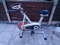 Carl Lewis spinning bike
