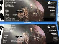 Biffy Clyro Unplugged in Frankfurt 29/09/18 x 2 tickets