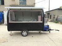 Mobile Catering Trailer Burger Van Hot Dog Ice Cream Food Cart 3000x1650x2300