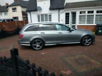 Mercedes Benz AMG sport auto estate swap part ex