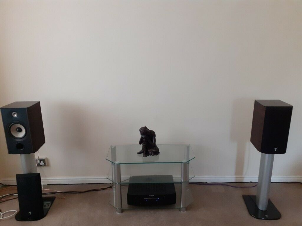 Focal Aria 906 Walnut finish + stands | in Castle Bromwich, West Midlands |  Gumtree