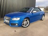 2010 Audi S5 3.0 TFSI S Tronic Quattro 2dr Convertible 2Tone Leather, Service History, 12Months MOT