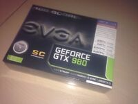 BRAND NEW (SEALED) EVGA GTX 980 4GB SC Model #: 04G-P4-2983-KR (NO Offers Plz) Can Deliver Locally !