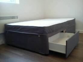 Divan 3/4 bed