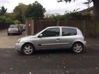 Renault Clio extreme 16V 1.3 for sale, MOT, drives ok.