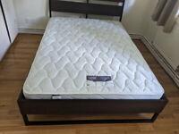 Double mattress -Silentnight Miracoil.