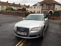 Audi A8 w12 long wheel top spec not s3 rs3 s8 rs4 rs6 luxury car