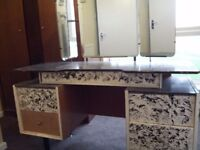 vintage teak dressing table G plan matching chest of drawers available separate see other ads