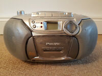 Portable CD, Cassette and Radio Player