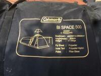 Coleman Bi Space 500 five person tent