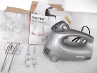 HAND HELD FOOD MIXER - SALTER 300W - BRAND NEW IN BOX - £8.00