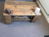 Reclaimed Scaffolding coffee table