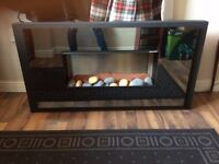 Stunning Electric Wall Mounted Fire Place For Sale - Excellent Condition