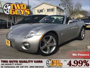 2008 Pontiac Solstice FUN ROADSTER!! 5SPD LEATHER A/C ALLOYS