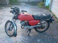 classic honda H100SD