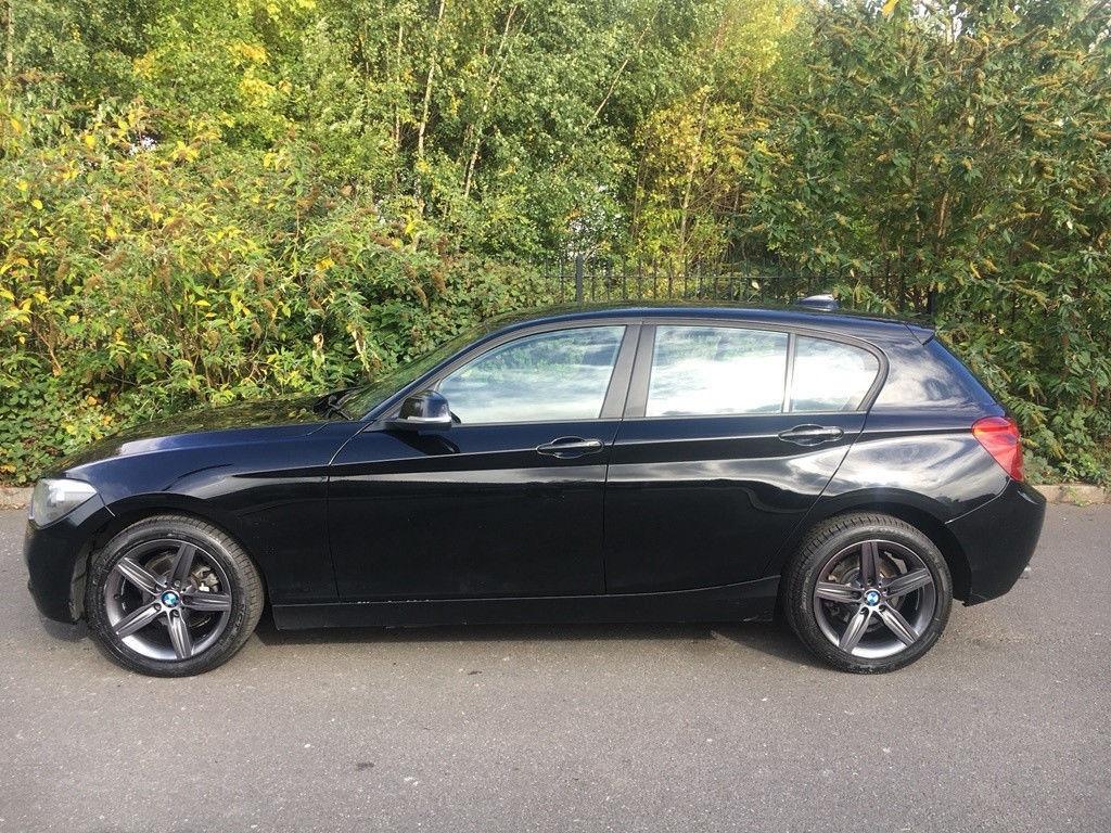 2013 BMW 114i Sports Petrol 5 Door Black Colour LOw Miles