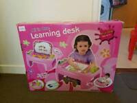 Toys. All in one Learning Desk, Rocking Horse, Rocking Caterpillar, Junior Poogo